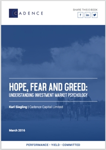 Hope, Fear and Greed: Market Psychology eBook