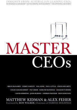 Master CEOs Book Cover