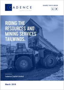 Riding the Resources and Mining Services Tailwinds